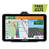 GPS Navigation for Trucks and Cars, 7 Inch 8GB HD Touch Screen Built-in 256MB GPS Navigation System,Voice Navigation for Car GPS,Navigator with Lifetime Map Update (Black) (Black)