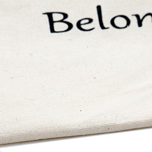 """TRIXES Borsa di Halloween in tela con stampa """"dolcetto o scherzetto"""" e strega."""