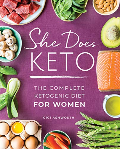 The She Does Keto: The Complete Ketogenic Diet for Women product recommended by Kirsten Trammell on Improve Her Health.