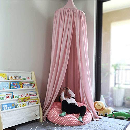 YF Children Tents Cotton Cloth Interior Game Tents Pink Nordic Style Tent