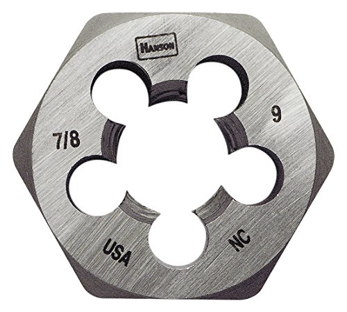 Hanson 8461 Die 7/8-9 1 13/16 NC Sh, for Tap Die Extraction
