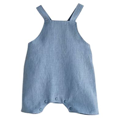 a01f3a0eefcb Amazon.com  Younger Tree Infant Toddle Baby Boys Girls Cotton Linen ...