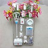 NPLE--14Pcs Mini Medical Equipment Toys For Barbie Doll Accessories Set stylish