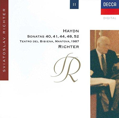Haydn: Piano Sonatas Nos. 40, 41, 44, 48 & - Inch Media 52