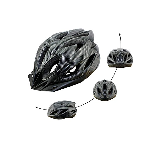 Q-Yuan Lightweight Bike Helmet, CPSC Certified Cycle Helmet Adjustable Thrasher for Adult with Detachable Liner with Water and Dust Resistant Cover by Q-Yuan (Image #1)