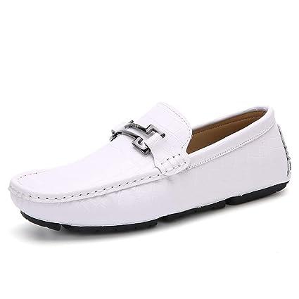 2019 Zapatos para Hombre Mocasines Mocasín de Cuero para ...