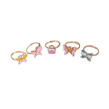 Anillo de 36 piezas para niños de dibujos animados, juguete bonito y anillos de aleación