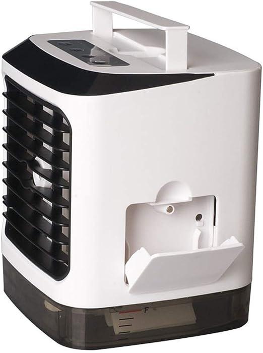 LGNCVKA Refrigerador Personal portátil para automóvil, purificador de humidificador 3 en 1, Ventilador de Aire Acondicionado de Escritorio USB, Oficina de Dormitorio al Aire Libre: Amazon.es: Hogar