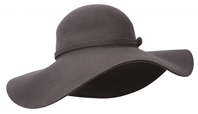 28d07ea3464 CC Womens Floppy Wool Hat - Grey at Amazon Women s Clothing store ...