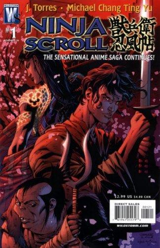 Ninja Scroll #1: J. Torres: Amazon.com: Books