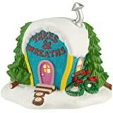Department 56 Grinch Villages Ornament-Ville Trees/Wreaths Lit House, 5.71-Inch