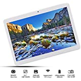 """4G LTE,10.1"""" Android Tablet, Deca-Core Processor, Android 8.0,2.8GHz,6GB RAM 64GB ROM, 1920x1200 IPS Screen HD,Dual SIM,5+12 MP Dual Camera,WiFi,GPS,Bluetooth(Gold)"""