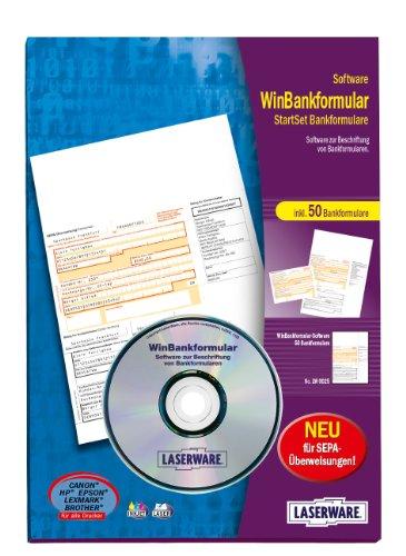 Laserware L0025 WinBankformular, Software für Bankformulare, mit 50 Formularen