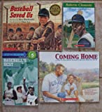 img - for Baseball Stories: Set of 4 Children's Books (Baseball Saved Us ~ Coming Home: A Story of Josh Gibson, Baseball's Greatest Home Run Hitter ~ Roberto Clemente: Young Baseball Hero ~ Baseball's Best: Five True Stories) book / textbook / text book