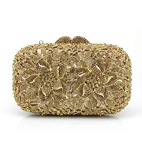 Sac fériés soirée 7x5inch Incrusté de A 18x12cm Pochette Bal Strass Diamants de Mini Et Parti de C Sacs Femme soirée Jours Main d'autres à qxX7HwB5