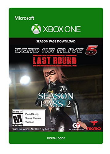 Dead or Alive 5 Last Round New Costume Pass 2 - Xbox One Digital Code by Tecmo Koei