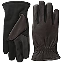 Touchpoint Men's Leather Gloves with Gathered Wrist