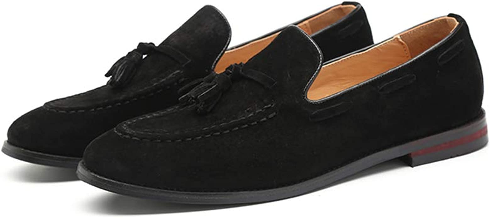 Black Penny Loafers for Men丨Premium