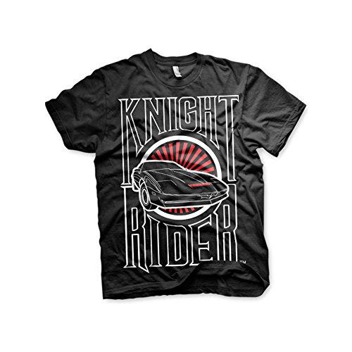 official photos de7d0 e4fd8 Knight Rider Officially Licensed Sunset K.I.T.T. 3XL,4XL,5XL Mens T-Shirt (