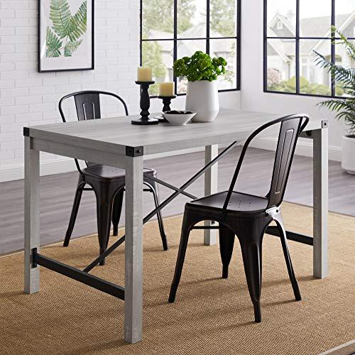 WE Furniture AZW48MWST Dining Table, 48