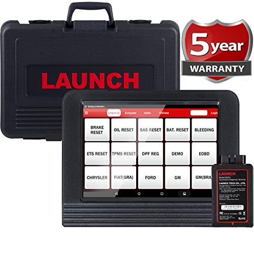 LAUNCH X431 V PRO Bi-Directional Scan Tool Full System Scanner,Key Programming,Reset Functions ABS Bleeding,TPMS,EPB,SAS,DPF,BMS,ECU Coding,Injector Coding, Full Connector Kit- Free Update (Torque Pro Software)