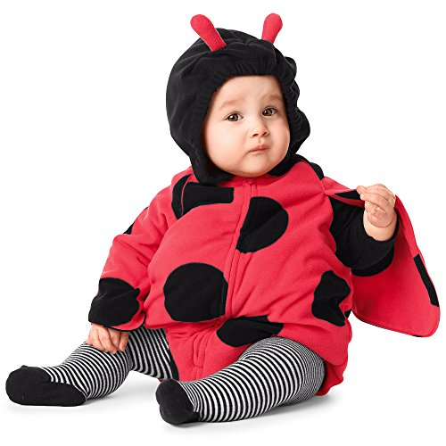 [Carter's Little Ladybug Halloween Costume-6-9 Months] (Girls Bug Costumes)