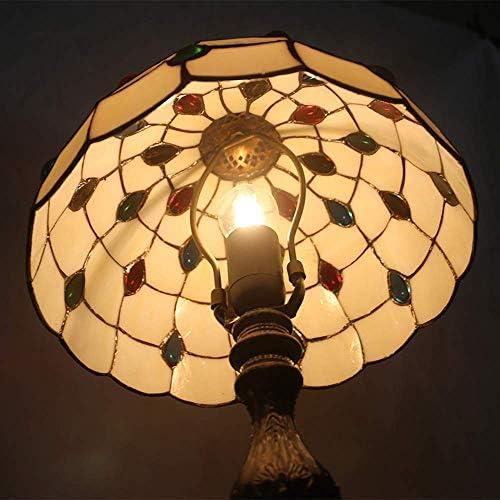 LIUCHANG Warm Home Gemstone Glass Enamel Alloy Retro Creative Bedroom Living Room Dining Room Study Table Lamp/Table Lamp/Lamp Nice liuchang20