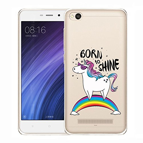 Funda para Xiaomi Redmi 4A , IJIA Transparente Expresión Fría (DONT TOUCH MY PHONE) TPU Silicona Suave Cover Tapa Caso Parachoques Carcasa Cubierta para Xiaomi Redmi 4A (5.0) WM110