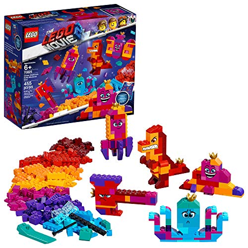 LEGO The LEGO Movie 2 Queen Watevra's Build Whatever Box! 70825 Pretend Play Toy and Creative Building Kit for Girls and Boys , New 2019 (455 Piece) (Best Lego Ever Built)