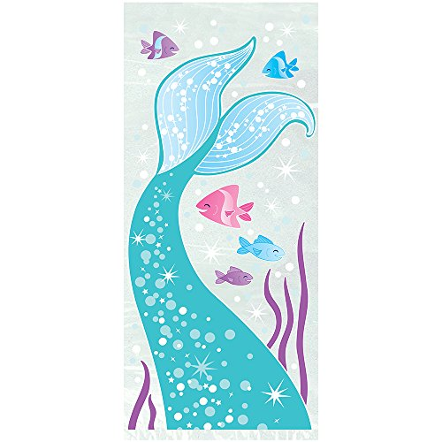Mermaid Cellophane Bags, 20ct