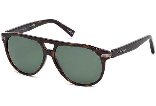 Amazon.com: Ermenegildo Zegna EZ0043 - Gafas de sol 52R con ...