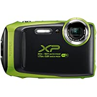 Fujifilm FinePix XP 16.4MP Full HD 1080p Wi-Fi Digital Camera with 5x Optical Zoom (Multiple Colors)