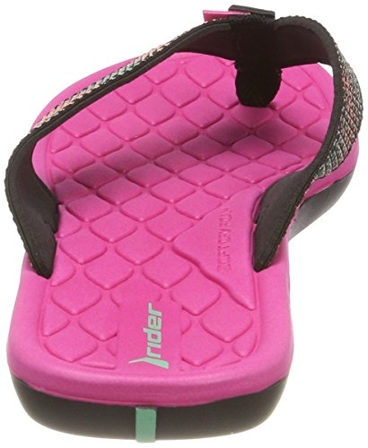 Multicolor Chanclas Cloud Black Pink Fem V 8341 Mujer para Rider HOfAxH