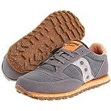 (サッカニー) SAUCONY メンズスニーカー・カジュアルシューズ・靴 Jazz Low Pro Vegan Charcoal/Orange 8.5 26.5cm D - Medium [並行輸入品]
