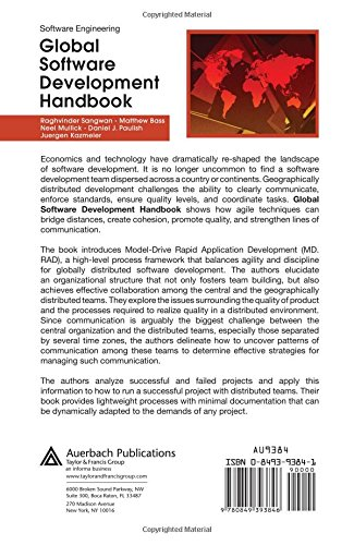 Global Software Development Handbook (Applied Software Engineering Series)