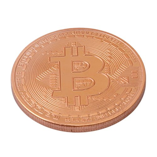 Unke Commemorative Coin Art Collection For Souvenir Bitcoin Coins Gift Copper