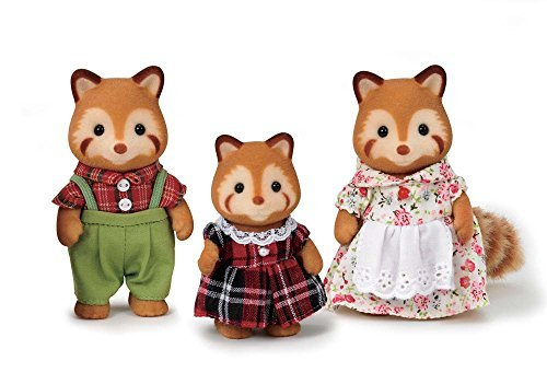 Calico Critters Red Panda Family Toy by Calico Critters