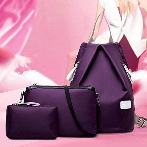 dos sac à femme Ladies Sac à Sac dos Manadlian main à main Violet bandoulière Sac à Sac à 5g1SfCqw