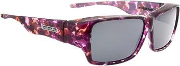 e0be335b2ac6 Jonathan Paul Fitovers Oogee Large Grape Polarized Gray Sunglasses