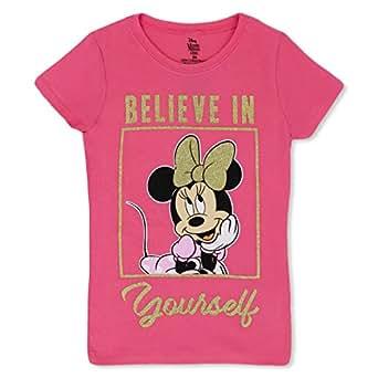 Amazon.com: Minnie Mouse Girls T-Shirt - Cute Disney ...