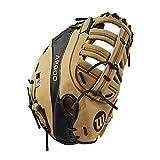 "Wilson A2000 2800 12"" First Base Baseball Glove-Right Hand & Throw, Blonde/Black"