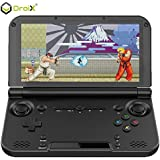 GPD XD Plus [2018 UPDATE] Portable Gaming Handheld 5 Touchscreen Android 7.1.1 Nougat Mediatek MT8176 Quad-Core CPU GX6250 GPU, 4GB RAM, 32GB ROM, 6000mAh Battery