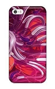 1508741K501429424 feathers pinkanime purple Anime Pop Culture Hard Plastic iPhone 5/5s cases