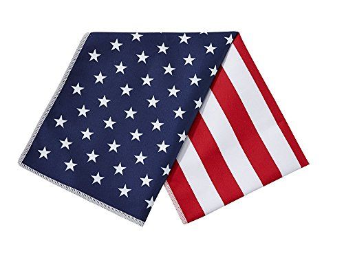Mission Enduracool Microfiber Cooling Towel, Large, American Flag