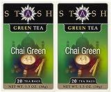 Stash Tea Chai Green Tea, 20 ct, 2 pk