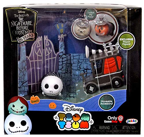 Disney Nightmare Before Christmas Tsum Tsum Set - Convention Set Face Changing Mayor Tsum]()