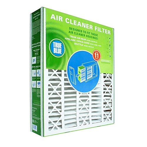 Price comparison product image True Blue YRACFS20X25.25X3.50M11 MERV 11 Residential Air Cleaner Replacement Space-Gard and Aprilaire Filter,  20 x 25.25 x 3.5 (20 x 25.25 x 3.75)
