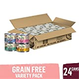 Purina Beyond Grain Free - Natural Pate Wet Cat Food Variety Pack - Grain Free - (24) 3 oz. Cans