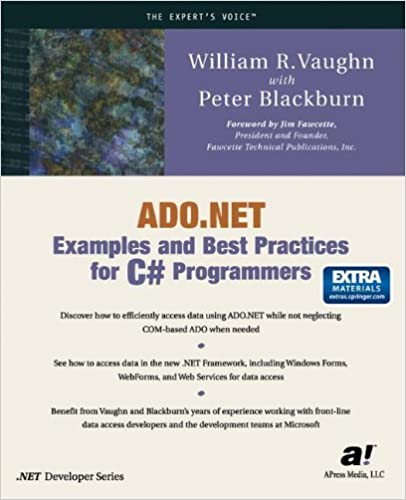 NET Examples And Best Practices For C# Programmers: William R. Vaughn,  Peter Blackburn: 9781590590126: Amazon.com: Books