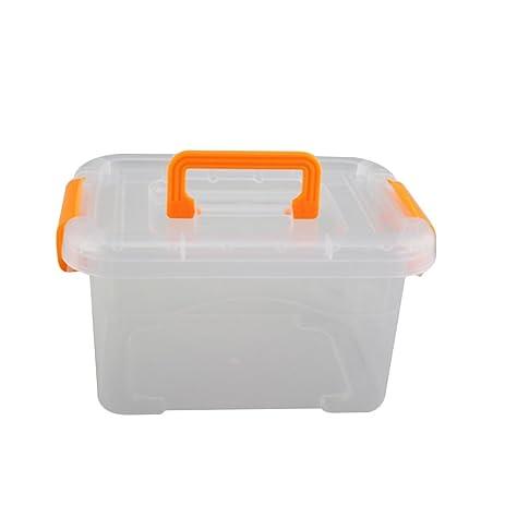JINBEST Pack of 1 Storage Box Multi Purpose Mini Clear Plastic Travel Storage Box Portable Transparent  sc 1 st  Amazon.com & JINBEST Pack of 1 Storage Box Multi Purpose Mini Clear Plastic ...